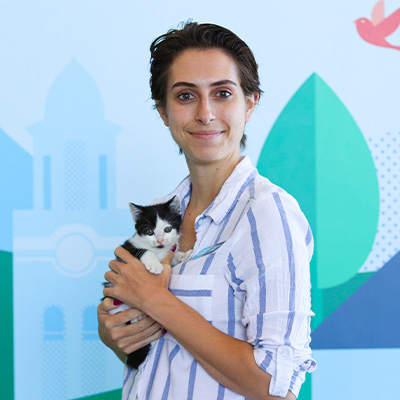 Danielle Jones - Petco Cat Habitat Coordinator