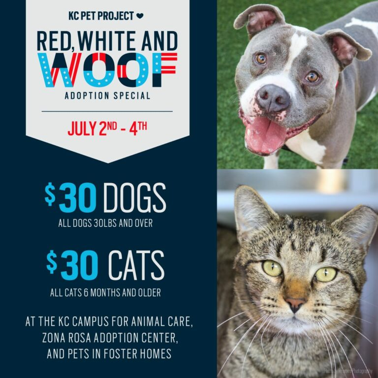 red white and woof event