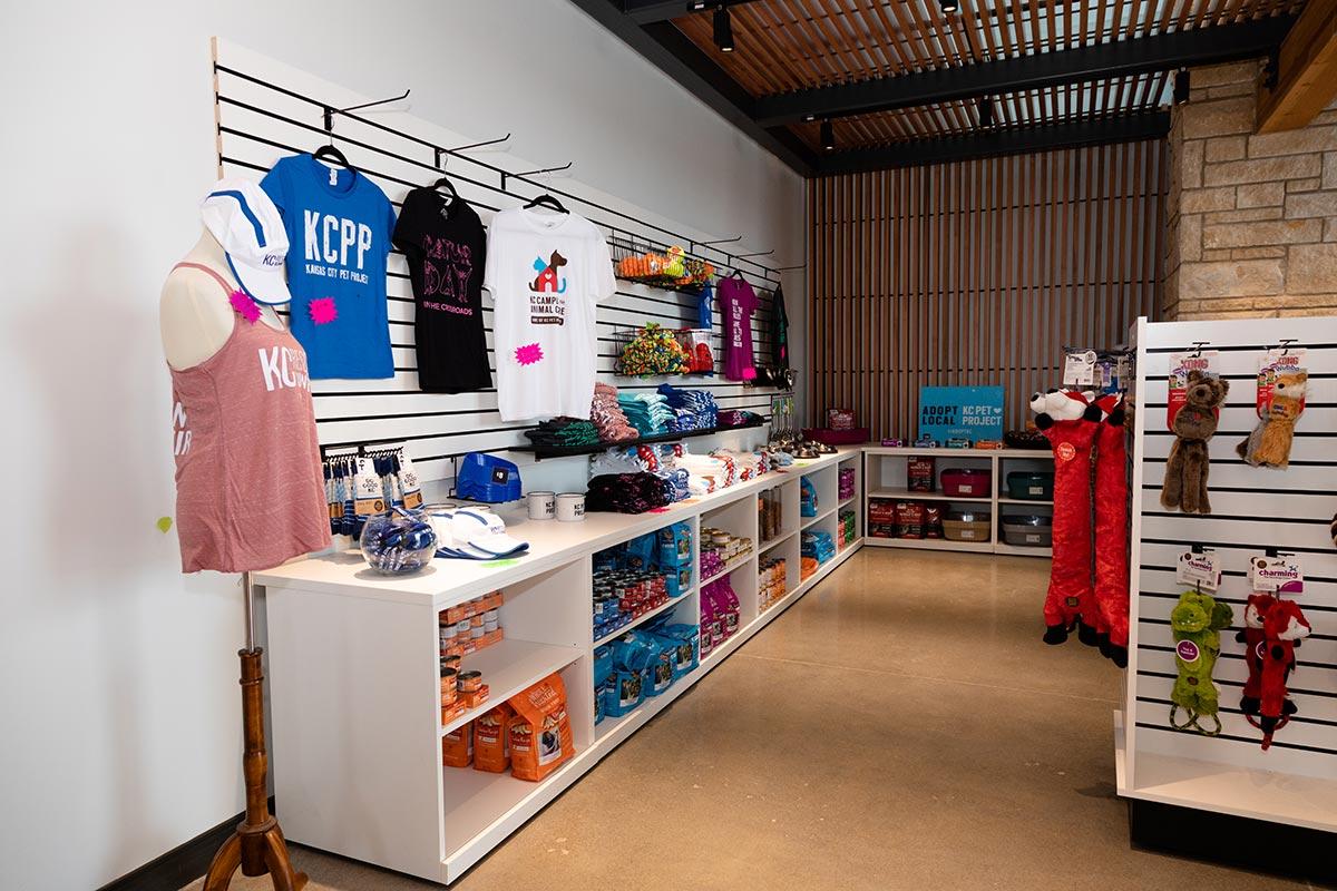 KCCAC retail store